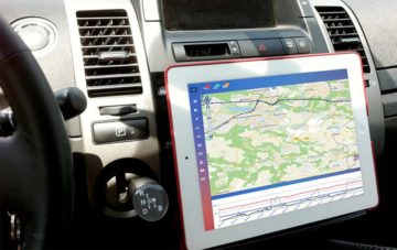application geolocalisation voiture